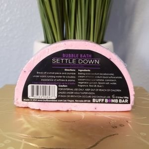 7/$25 Buff Bomb Bar Bubble Bath Settle Down